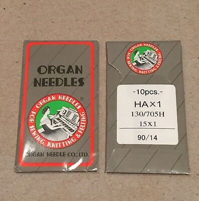 Organ Universal Sewing Machine Needles 90/14 - 10 Pcs