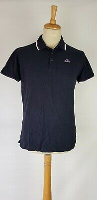 L192 Mens Robe Di Kappa Blue Short Sleeved Polo T-Shirt Xl