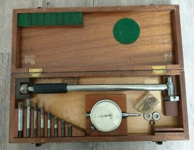 "Mercer St. Albans .0005"" imperial dial test indicator gauge tool long range SET"