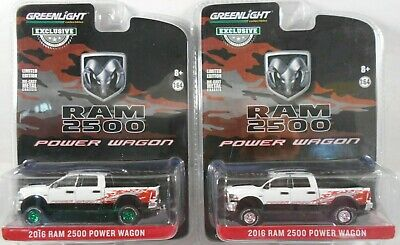 2019 Greenlight 1:64 Chase Green *2016 Dodge Ram 2500 Power Wagon* Hobby Exclusi