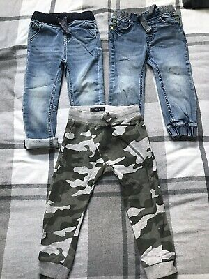 Baby Boys Trousers Bundle Next 18-24 Months