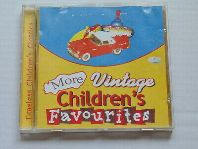 CD MORE VINTAGE CHILDREN'S FAVOURITES Shirley Temple, Danny Kaye, Burl Ives +