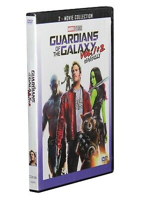 Guardians of the Galaxy Vol. 1 & 2 DVD (2 Movie Collection 2019) New