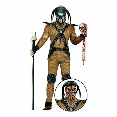 6f8231f0b MENS ALIEN COSTUME Space Martian Man Halloween Fancy Dress Skin Suit ...