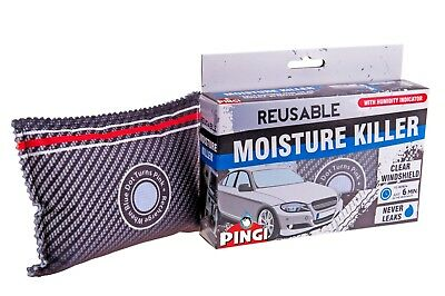 Pingi Car Dehumidifier Reusable Anti Mist Moisture Condensation Absorbing Bag