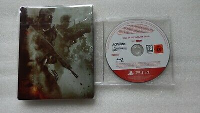Call of Duty: Black Ops 4 PS4 PROMO + Call of Duty: Black Ops 4 PS4 Steelbook