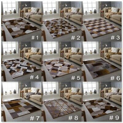 Ochre Mustard Small Extra Large Big Brown Size Floor Carpets Rugs Mats Cheap Rug
