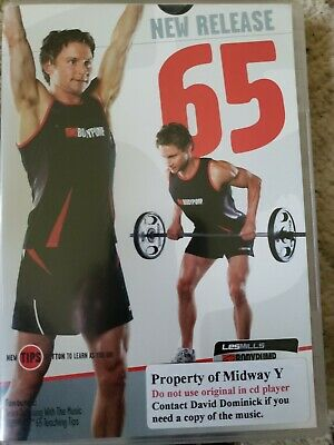 Les Mills Bodypump 65 DVD/CD Body Pump 2008 group exercise