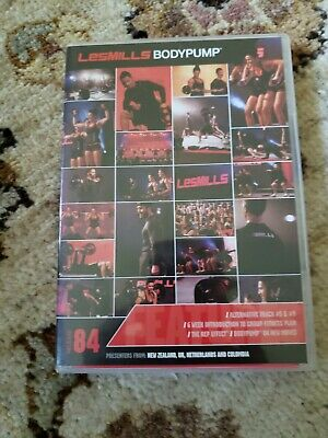 LES MILLS BODYPUMP 84 Release Kit - Complete DVD, Choreography Notes, Music CD