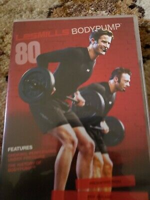 Les Mills Body Pump 80 Complete Release DVD CD Choreography