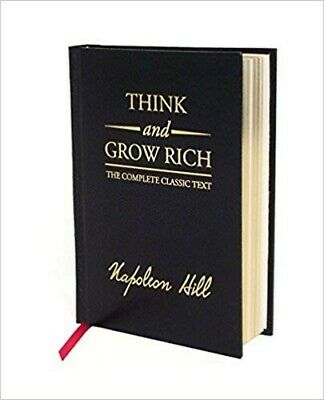 Think and Grow Rich by Napoleon Hill (2008, Hardcover, Deluxe Edition)