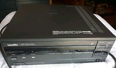 Pioneer Laservision LD-V6000 Laserdisc Player - TV/VDP/CX