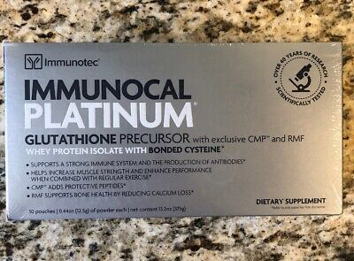 IMMUNOCAL PLATINUM (1 BOX) by IMMUNOTEC. FREE SHIPPING!!!