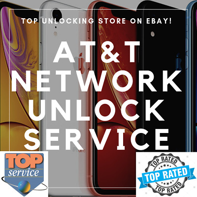 Unlock Service For Apple iPhone 6s / 7 / 8+ / X / XR / XS / XS Max AT&T USA