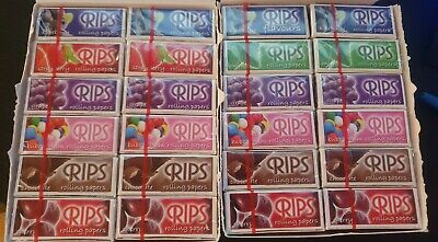 Rips Cigarette Rolling Papers Fruit Flavored Rolls Pick N Mix