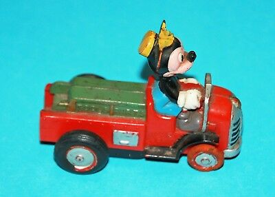 Rare Vintage 1960's Mickey Mouse (Service truck) push toy