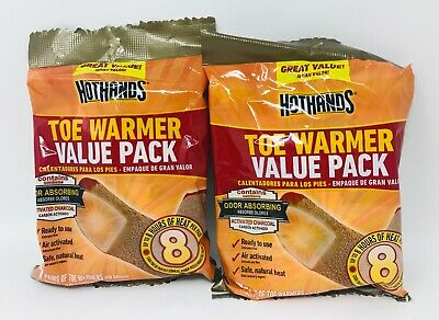 7 Pairs HotHands Toe Warmers Value Pack! (Lot of 2 Packs-TOTAL-14 Pairs) FRSHIP