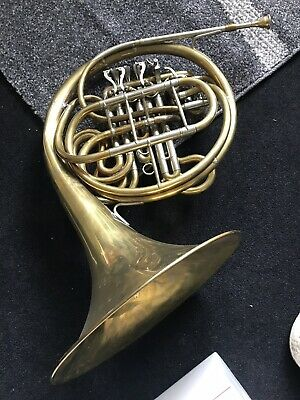 Old Used French Horn  For Sale