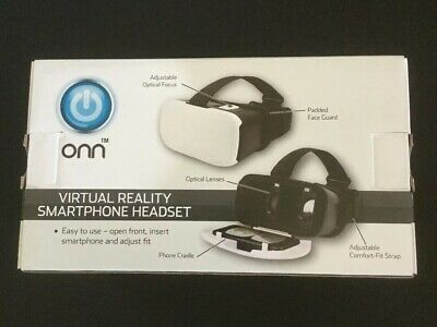 NEW Virtual Reality Vr Headset Smart Glasses 3d Universal Phones ONN