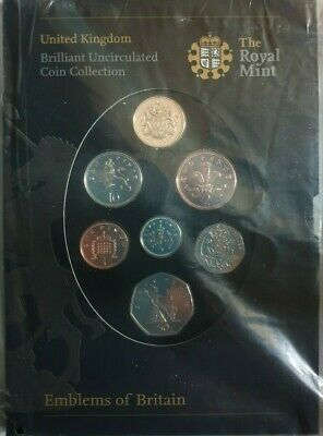 Royal Mint, 2008 Annual Coin Set, Factory Sealed, BU