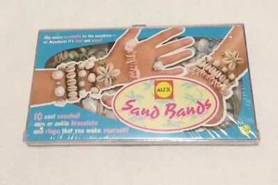 ALEX Toys Do-it-Yourself Sand Bands Arm Or Ankle Bracelet Kit Factory Sealed New