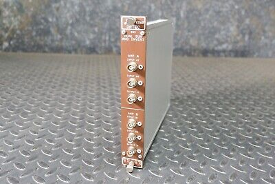 Ortec 533 Dual Sum and Invert Amplifier NIM BIN Module