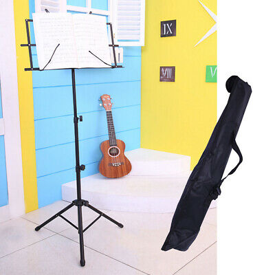 Student Music Note Stand Sheet Music Holder Lightweight Adjustable Foldable