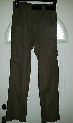 BOY SCOUTS of America men's convertible cargo style pants SZ XS