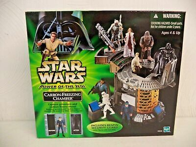 Star Wars Power of the Force Jedi Carbon-Freezing Chamber w Bespin Guard NEW MIB