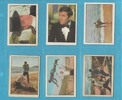 Scarce Trade Card Set - Anglo Confectionery - New 007 James Bond £672 Bv (Km01)