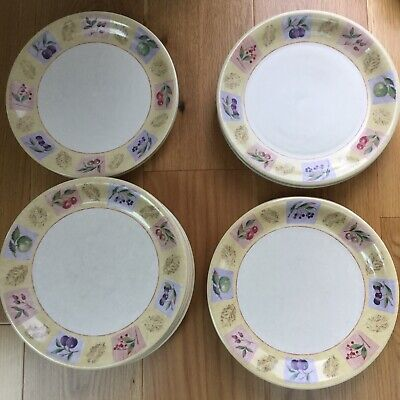 Marks And Spencer Wild Fruits Dinner Plates X 8