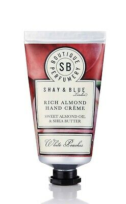 Shay And Blue Rich Almond Hand Creme Cream White Peaches 40g SEALED