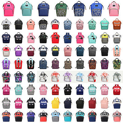 Diaper Bag Nappy Changing Mummy Bags Large Rucksack Maternity Baby Care Backpack
