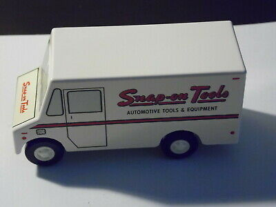 "Vintage Snap On Tools Diecast Tool Truck-Old Logo Mint 4"" x 2"""
