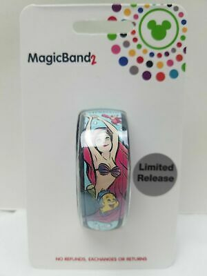 Disney Parks Ariel Little Mermaid 30th Anniversary LE Magic Band In Hand