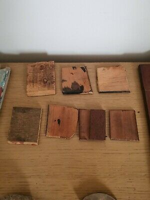 11 x assorted separators and bits for antique/vintage writing slope