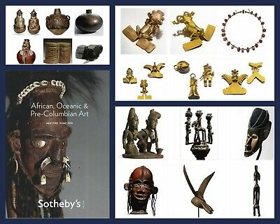 Sotheby's African, Oceanic and Pre-Columbian Art New York 5/14/10 Sale 8638  -A