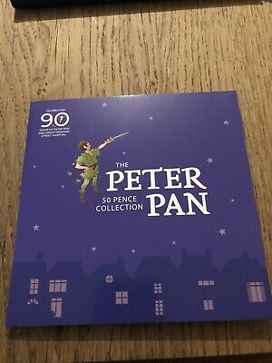 2019 Isle Of Man Bunc *Peter Pan* 50P Coin Set