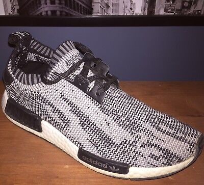 super popular 3fee4 21c0a NEW ADIDAS MENS Sneakers Size 13 NMD R2 Oreo Black White ...