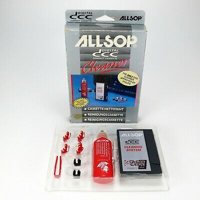 Allsop DCC Cleaning Kit - Digital Compact Cassette - Complete & Unused In Box