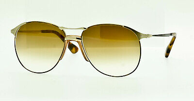 214ff6a1e14c PERSOL 649 SERIES Brown Gradient Aviator Sunglasses PO2649S 107551 ...