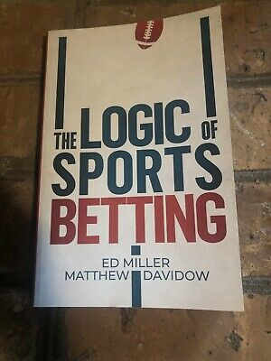The Logic Of Sports Betting by Matthew Davidow Very Good Condition