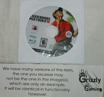 USED Tiger Woods PGA Tour 10 Sony PlayStation 3 PS3 (NTSC) DISC ONLY!!