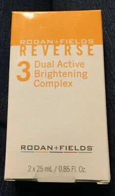 Rodan + and Fields Reverse - DUAL ACTIVE BRIGHTENING COMPLEX - 0.85 fl oz each