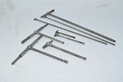 Lot of 8 Telescoping Gages, Starrett & Others
