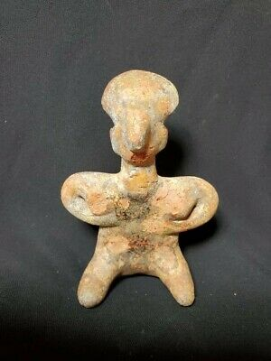 Pre-Columbian Nayarit figure from Mexico. 300 bc.