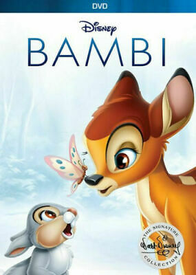 Bambi (DVD, 2017, Signature Edition)  New and Sealed - FREE SHIPPING
