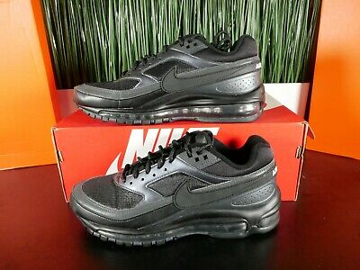 Nike Air Max 97 BW Triple Black Running Shoes AO2406-001 Multi Size