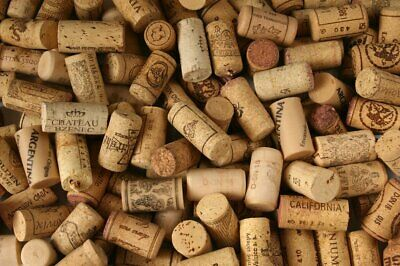 Premium Recycled Corks, Natural Wine Corks From Around the World - 100 Count.