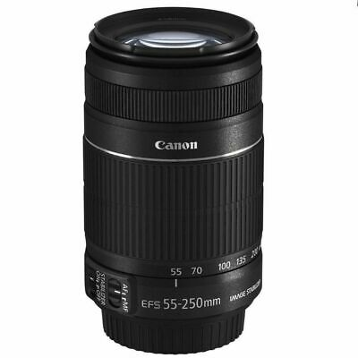 NEW Canon EF-S 55-250mm f/4.0-5.6 IS II Telephoto Zoom Lens